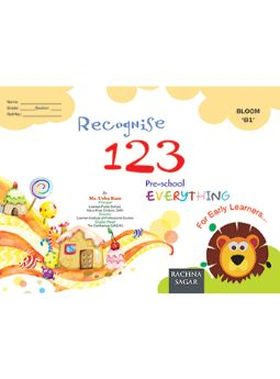 Together With Everything Bloom B1 Recognise 123 for Class LKG
