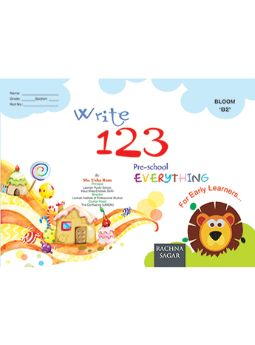Together With Everything Bloom B2 Write 123 for Class LKG