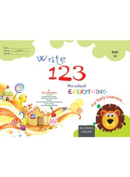 Together With Everything Bud A Write 123 for Nursery