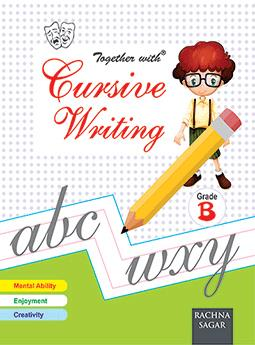 Together With Cursive Writing B for Class LKG