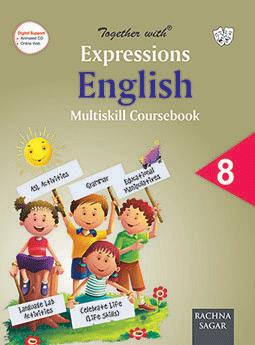 Together With Expressions English Multiskill Coursebook (MCB) for Class 8
