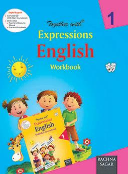 Together with Expressions English Work Book for Class 1