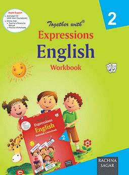 Together with Expressions English Work Book for Class 2