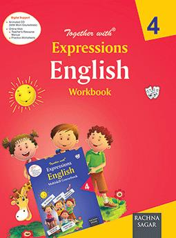 Together with Expressions English Work Book for Class 4